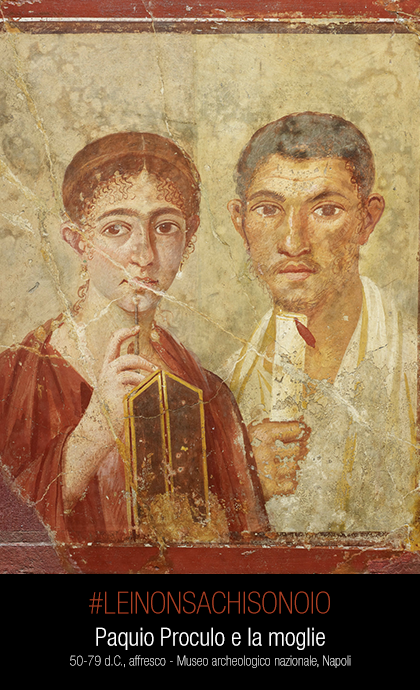 Paquio Proculo e la moglie